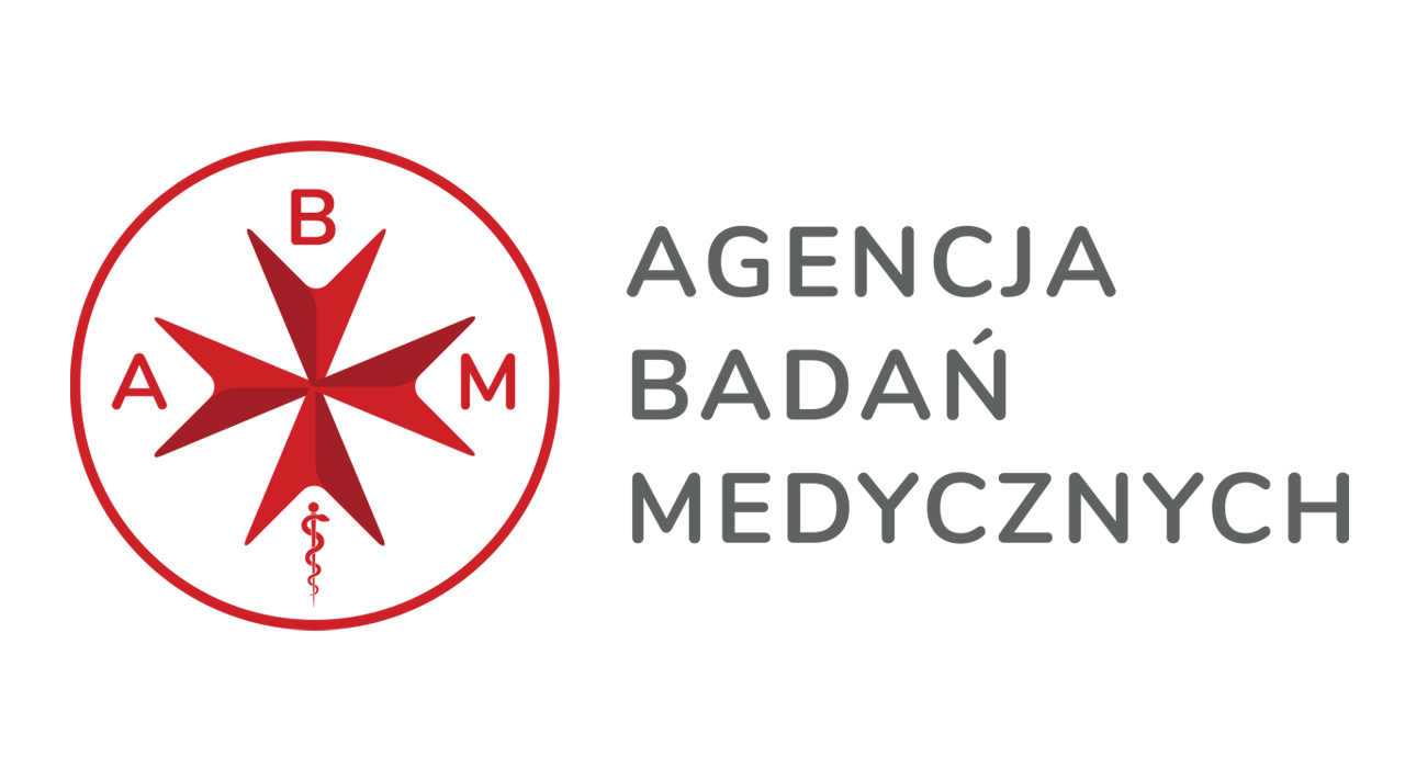 Logotyp Agencji Badań Medycznych