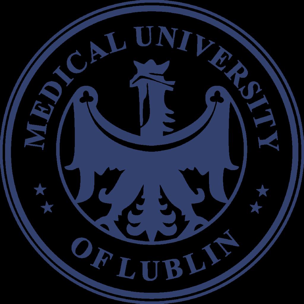 logotyp Uniwersytetu Medycznego EN