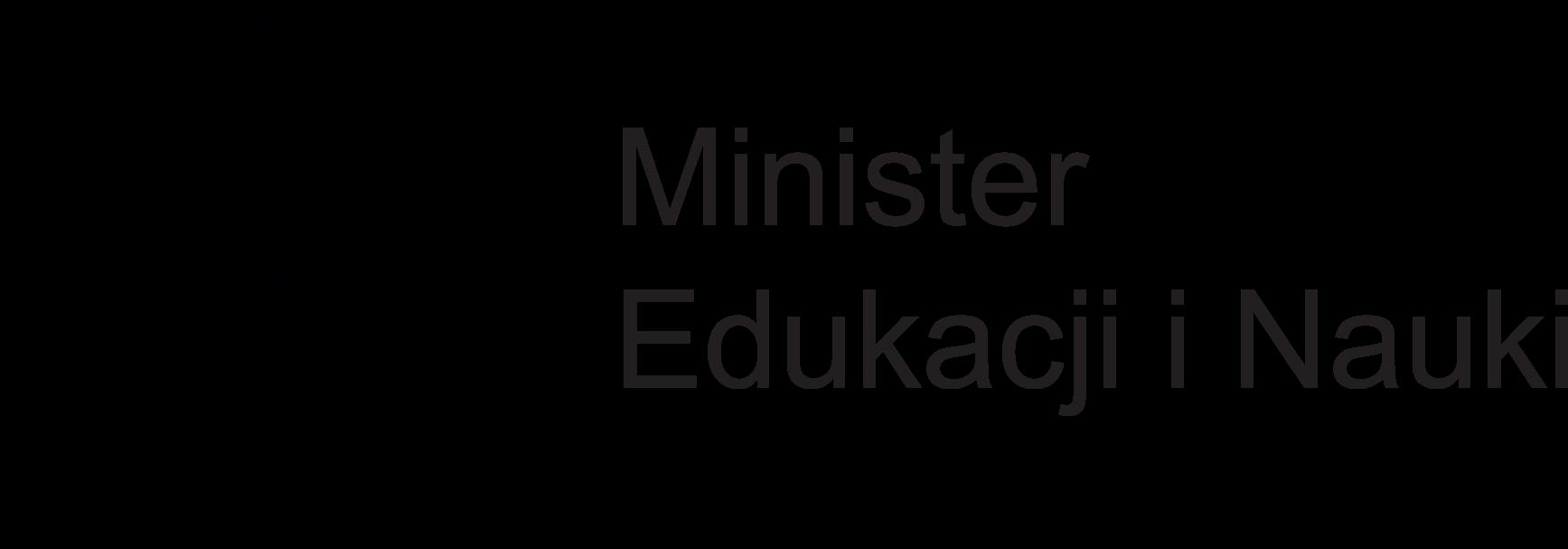 Logotyp Ministerstwa Edukacji iNauki